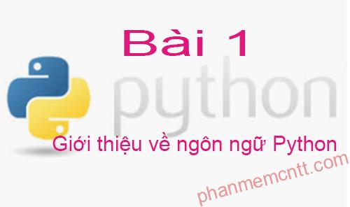 hoc lap trinh python 1