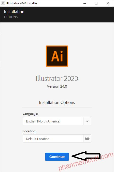 huong dan download va cai dat Adobe Illustrator 2020 6