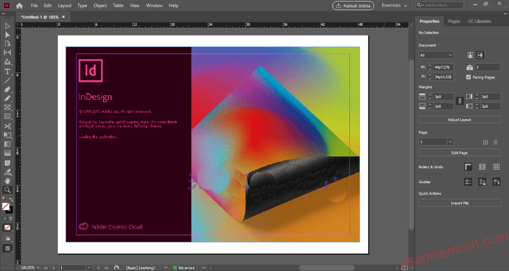 Download Adobe InDesign CC 2020 anh 2