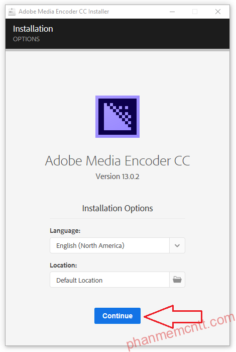 huong dan cai dat Adobe Media Encoder CC 2019 anh 6