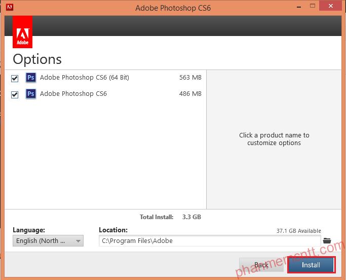 huong dan cai dat Adobe Photoshop CS6 mien phi full anh 6