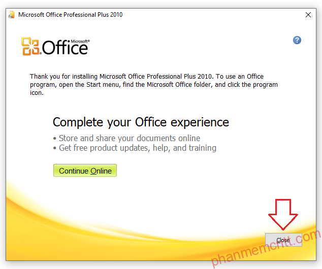 Microsoft Office 2010 Professional full link google drive anh 6