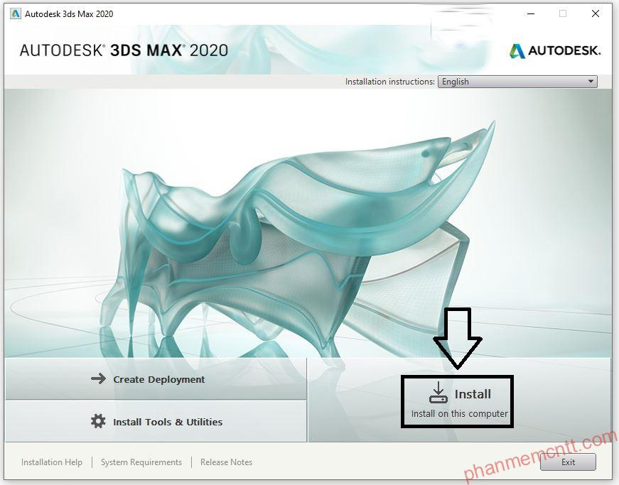 huong dan cai dat autodesk 3ds max 2020 vray 4.2 anh 6