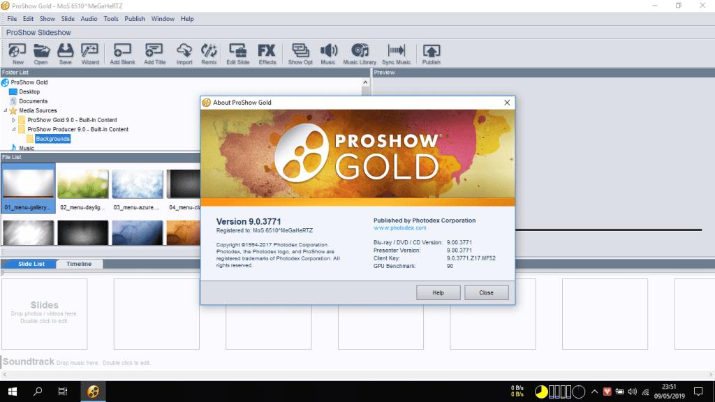 huong dan cai dat proshow produce gold 9.0 full anh 3