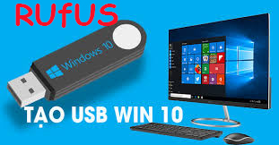 tao usb boot cai windows 10
