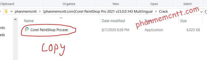 cai dat corel paintshop 2021 10