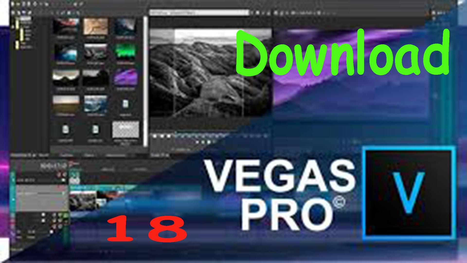 download magix vegas pro 18 lastest version 2020