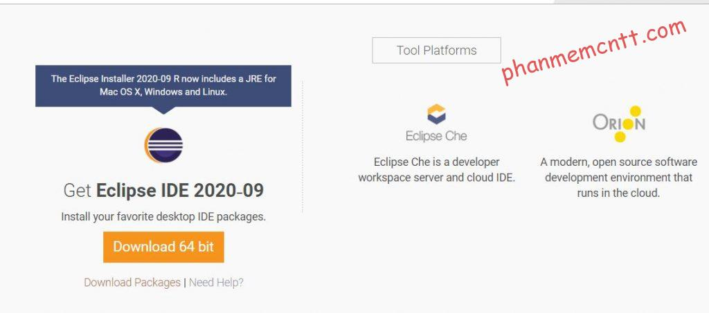 download eclipse windows macos linux