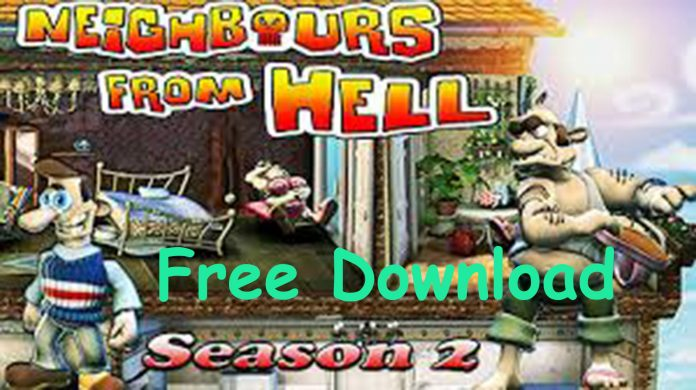 download neighbours from hell 2 on vacation full pc