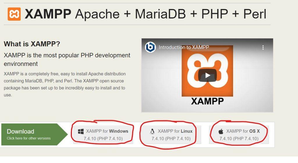 download xampp phan mem tao may chu web
