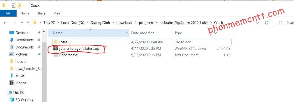 huong dan cai dat phpstorm 2020