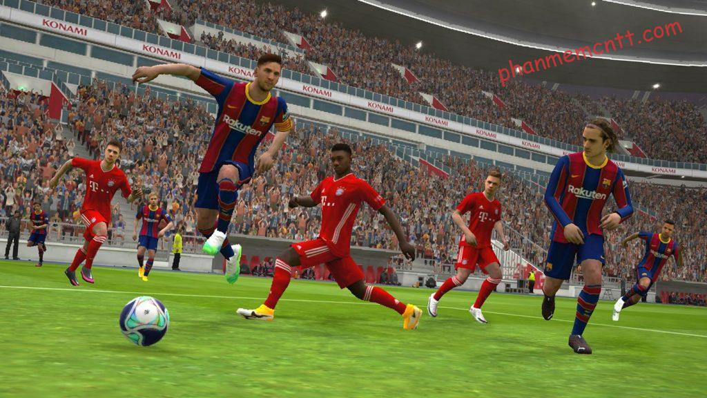 cach tai pes mobile 2021 cho android